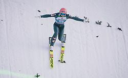 31.12.2019, Olympiaschanze, Garmisch Partenkirchen, GER, FIS Weltcup Skisprung, Vierschanzentournee, Garmisch Partenkirchen, Qualifikation, im Bild Daniel Huber (AUT) // Daniel Huber of Austria during his qualification Jump for the Four Hills Tournament of FIS Ski Jumping World Cup at the Olympiaschanze in Garmisch Partenkirchen, Germany on 2019/12/31. EXPA Pictures © 2019, PhotoCredit: EXPA/ JFK