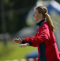 Karianne Ruud, Fredrikstad. Orientering, 21. juni 2002. NM sprint.