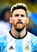 Conmebol - World Cup Fifa Russia 2018 Qualifier / <br /> Argentina National Team - Preview Set - <br /> Lionel Andres Messi