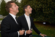 NICK CANDY; CHRISTIAN CANDY;, Royal Parks Foundation Summer party. Gala evening, sponsored by Candy & Candy on behalf of One Hyde Park. Hyde Park. London. 10 September 2008 *** Local Caption *** -DO NOT ARCHIVE-© Copyright Photograph by Dafydd Jones. 248 Clapham Rd. London SW9 0PZ. Tel 0207 820 0771. www.dafjones.com.