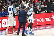 Moss David e Magro Alessandro, EA7 Emporio Armani Milano vs Germani Basket Brescia - 12 giornata Campionato LBA 2017/2018, Milano Mediolanum Forum 26 dicembre 2017 - foto BERTANI/Ciamillo