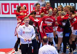 EHF Euro 2020 Main Round group I match between Denmark and Sweden in Jyske Bank Boxen, Herning, Denmark on December 11, 2020. Photo Credit: Lars Jørgensen/EVENTMEDIA.