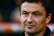 Barnsley manager Paul Heckingbottom during the EFL Sky Bet Championship match between Norwich City and Barnsley at Carrow Road, Norwich, England on 18 November 2017. Photo by Phil Chaplin.