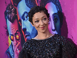 """Actress Ruth Negga arrives at AMC's """"Preacher"""" Season 2 Premiere Screening held at the Theater at the Ace Hotel in Los Angeles, CA on Tuesday, June 20, 2017.  (Photo By Sthanlee B. Mirador) *** Please Use Credit from Credit Field ***"""