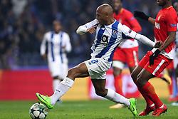 December 6, 2017 - Porto, Porto, Portugal - Porto's Algerian forward Yacine Brahimi score a goal during the UEFA Champions League Group G match between FC Porto and AS Monaco FC at Dragao Stadium on December 6, 2017 in Porto, Portugal. (Credit Image: © Dpi/NurPhoto via ZUMA Press)