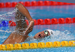 Mykhailo Romanchuk of Russia in the 1500m during the 17th FINA World Championships in Budapest, Hungary, on July 29, 2017. Photo by Giuliano Bevilacqua/ABACAPRESS.COM