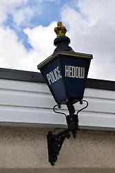 Police station, Crickhowell, Powys, Wales
