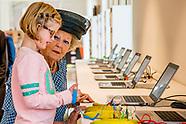 Prinses Beatrix der Nederlandenopent donderdagmiddag 26 oktober cultuurcentrum Zinder in Tiel. Als