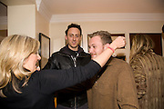 THE COUNTESS OF HANOVER; RAIMONDO GAETANI; ALEX FLICK. Aatish Taseer  book launch party for his new book Stranger To History. Travel book asks what it means to be a Muslim in the 21st century. Hosted by Gillon Aitken. Kensington, London. 30 March 2009