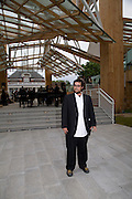 SAM GEHRY, Frank Gehry Serpentine Pavilion opening event: Serpentine Gallery, Kensington Gardens. London. 18 July 2008 *** Local Caption *** -DO NOT ARCHIVE-© Copyright Photograph by Dafydd Jones. 248 Clapham Rd. London SW9 0PZ. Tel 0207 820 0771. www.dafjones.com.