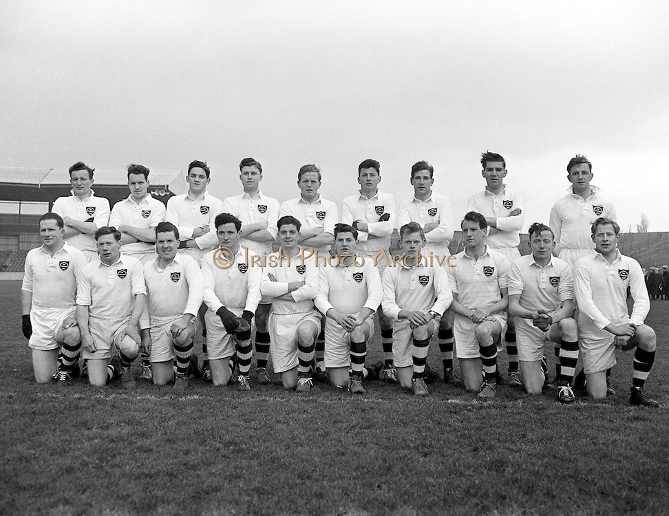 Combined Universities and The Rest v Ireland at Croke Park.  Combined Universities and The Rest Team..06.03.1955.