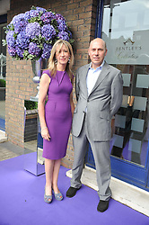 PEREGRINE & CAROLINE ARMSTRONG-JONES at a party to celebrate the launch of Bentley's The Collection held at 6 Square Rigger Row, Plantation Wharf, York Road, London SW11 on 25th June 2012.