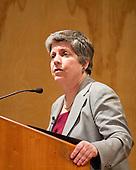 U.S. Homeland Security Secretary Janet Napolitano Visits San Jose State University