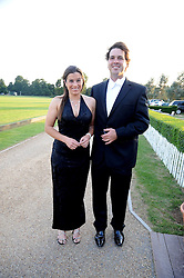 JAMES & EMMA WAYLAND at the annual Ham Polo Club Summer Ball held at the club, Petersham Road, Richmond, Surrey on 25th July 2008.<br /> <br /> NON EXCLUSIVE - WORLD RIGHTS