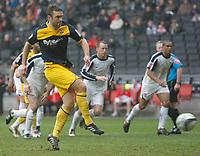 Photo: Steve Bond/Richard Lane Photography. MK Dons v Southampton. Coca-Cola Football League One. 20/03/2010. Rickie Lambert converts the penalty