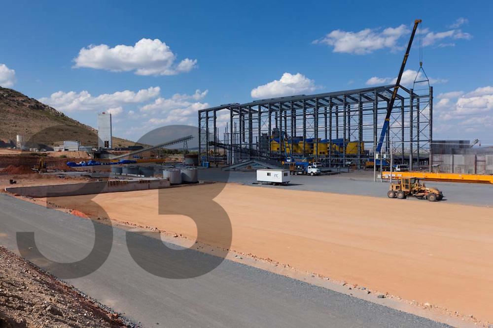 Saucito, development site. Fresnillo plc. Fresnillo, Zacatecas, Mexico