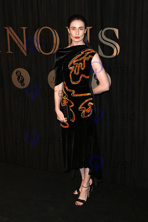 Erin O'Connor, BFI Fundraising Gala Luminous, Guildhall, London UK, 03 October 2017
