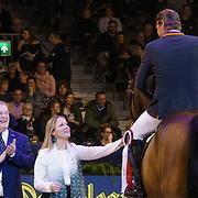 NLD/Amsterdam/20190125- Jumping Amsterdam 2019, prijsuitreiking oa door Margarita de Bourbon de Parme
