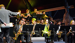 Sekunjalo Edujazz Big Band. Cape Town International Jazz Festival 2017. Photo by Alec Smith/imagemundi.com