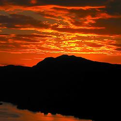 Pôr-do-sol em Colatina, ES.