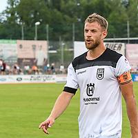 01.08.2020, C-Team Arena, Ravensburg, GER, WFV-Pokal, FV Ravensburg vs SSV Ulm 1846 Fussball, <br /> DFL REGULATIONS PROHIBIT ANY USE OF PHOTOGRAPHS AS IMAGE SEQUENCES AND/OR QUASI-VIDEO, <br /> im Bild Johannes Reichert (Ulm, #5)<br /> <br /> Foto © nordphoto / Hafner