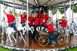 Ahlmann Christian, Tebbel Maurice, Deusser Daniel, Blum Simone, Ehning Marcus, <br /> EC Rotterdam 2019<br /> © Hippo Foto - Sharon Vandeput<br /> 19/08/19