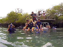 Getting Ready For Snorkel, Isabela Island