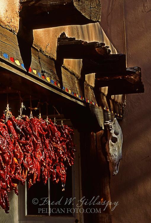 Chile Ristras #1, Santa Fe, New Mexico