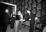 Centenary Ball at the Shelbourne Hotel, Dublin.<br /> 12.01.1967
