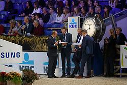 Geysemans Eddy, BEL<br /> Vlaanderens Kerstjumping<br /> Memorial Eric Wauters<br /> Jumping Mechelen 2017<br /> © FEI/Dirk Caremans<br /> 30/12/2017