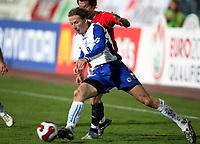 Fotball , 17. oktober 2007 , EM-kvalifisering , Bosnia Herzegovina - Norge 0-2 , <br /> Branislav Krunic , Bosnia