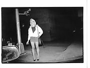 West Side, near west side highway in the Twentier Sunday, 11pm, 7th June 1992, New York© Copyright Photograph by Dafydd Jones 66 Stockwell Park Rd. London SW9 0DA Tel 020 7733 0108 www.dafjones.com