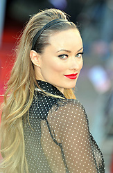 © Licensed to London News Pictures. 11/08/2011. London, England. Olivia Wilde attends the U.K premiere of Cowboys and Aliens Starring Harrison Ford and Daniel Craig at the O2 Cineworld London Photo credit : ALAN ROXBOROUGH/LNP