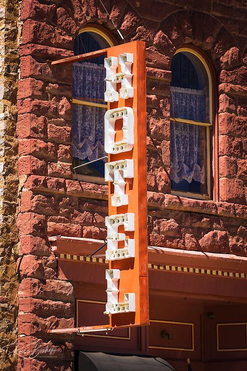 Historic downtown hotel, Silverton, Colorado USA