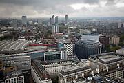 Buildings around London Waterloo station. London SE1.