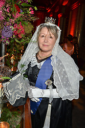 MARY KILLEN at the TatlerMagazine's Kings & Queens party held at Savini at Criterion, Piccadilly, London on 1st June 2016.