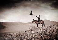 An Eagle Hunter Mongolia's Altai Mountains.