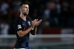 September 11, 2018 - Elche, Alicante, Spain - Ivan Perisic of Croatia reacts during the UEFA Nations League A group four match between Spain and Croatia at Manuel Martinez Valero on September 11, 2018 in Elche, Spain  (Credit Image: © David Aliaga/NurPhoto/ZUMA Press)