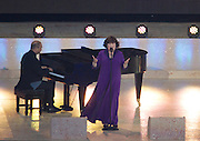 23.07.2014. Glasgow, Scotland. Glasgow Commonwealth Games. The opening ceremony. Susan Boyle on stage