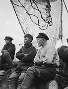Fishermen, Hamburg Harbour, 1925