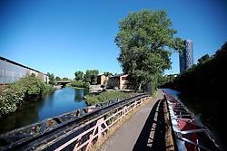 UK ENGLAND LEICESTER 30JUN15 - The river Soar at Leicester city.<br /> <br /> jre/Photo by Jiri Rezac / WWF UK<br /> <br /> © Jiri Rezac 2015