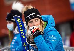 Ana Bucik (SLO) during 2nd Run of Ladies' Giant Slalom at 57th Golden Fox event at Audi FIS Ski World Cup 2020/21, on January 17, 2021 in Podkoren, Kranjska Gora, Slovenia. Photo by Vid Ponikvar / Sportida