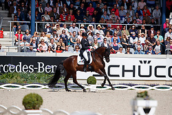 Schneider, Dorothee (GER), Sammy Davis jr<br /> Aachen - CHIO 2017<br /> Grand Prix Kür, Grosser Dressurpreis von Aachen<br /> © www.sportfotos-lafrentz.de/Stefan Lafrentz