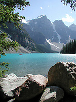 Moraine Lake<br /> Banff National Park   Photo: Peter Llewellyn