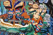 Frescos on Rumtek monastery