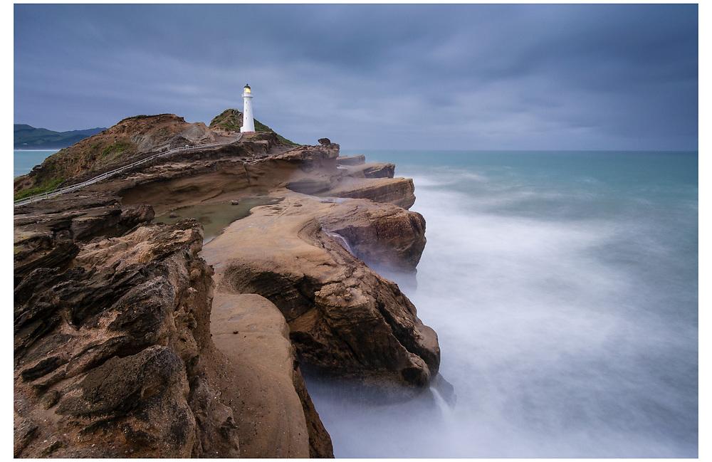 Castlepoint Lighthouse, Wairarapa Coast.