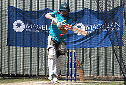 Australia's Shain Marsh during a nets session at the WACA Ground, Perth.