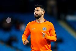 Sergio Aguero of Manchester City - Mandatory by-line: Robbie Stephenson/JMP - 19/09/2018 - FOOTBALL - Etihad Stadium - Manchester, England - Manchester City v Lyon - UEFA Champions League Group F