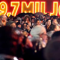Nederland, Amsterdam , 6 januari 2015.<br /> Spanning tijdens het Kanjerfeest (wijkfeest) van de Postcode Loterij in Gaasperdam Amsterdam Zuidoost.<br /> Foto:Jean-Pierre Jans