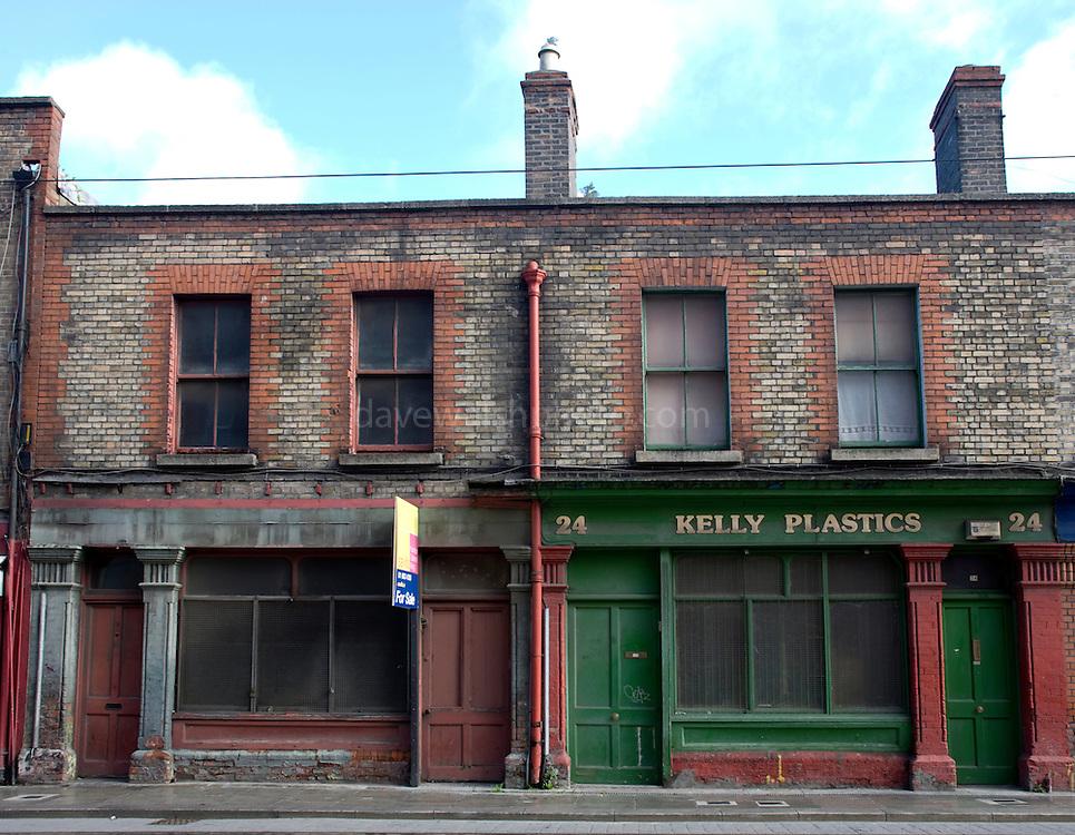 Benburb, St., Dublin, street, ireland, irish, city, centre, central, urban, decay, renewal, shops, closed, down,